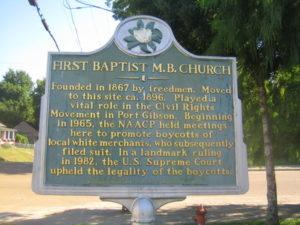 First Baptist M.B. Church
