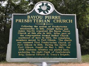 Bayou Pierre Presbyterian Church