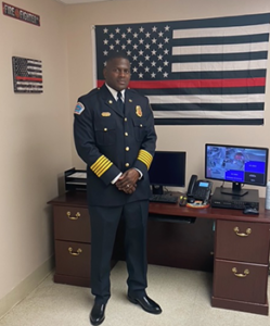 Fire Chief Chauncey Walker